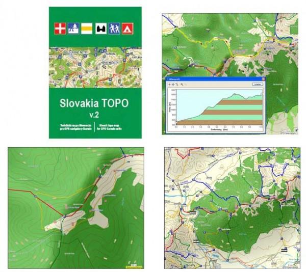 Topo SLOWAKEI CD V3