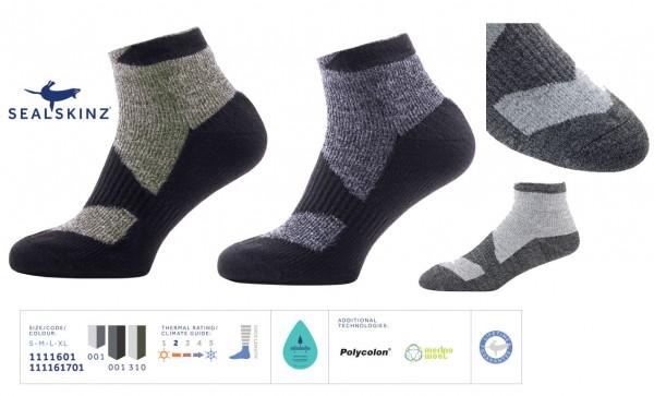 SEALSKINZ Walking Thin Socklet