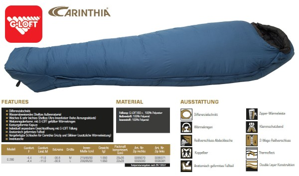 CARINTHIA G 280