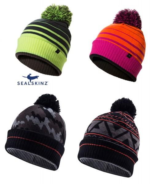 SEALSKINZ Water Bobble hat