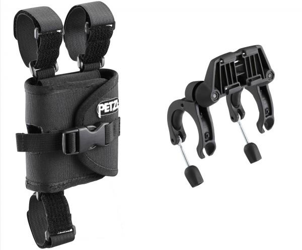 PETZL Befestigungssystem für Fahrradlenker