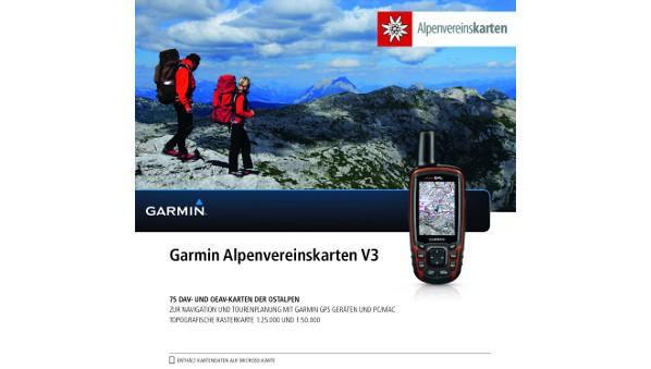 Garmin Alpenvereinskarten V3