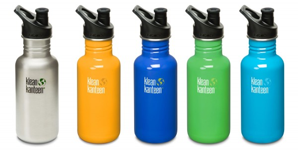 Klean Kanteen Flasche 'Classic' Sports Cap, 0,532 L