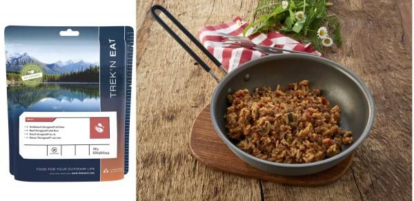 TREK'N Eat - Hauptgerichte mit Fleisch - Rindfleisch Stroganoff