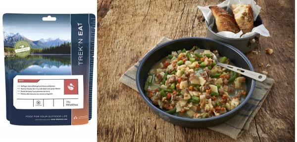 TREK'N Eat - Hauptgerichte mit Fleisch - Deftiger Kartoffeltopf