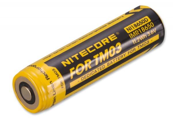 NITECORE Li-Ion Akku Typ 18650 IMR für TM03